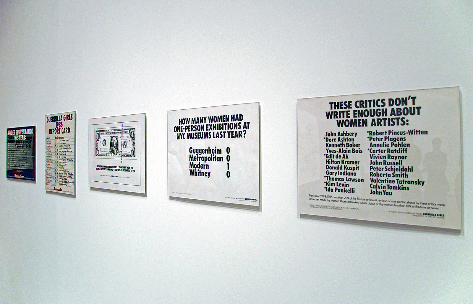 posters Guerrilla Girls