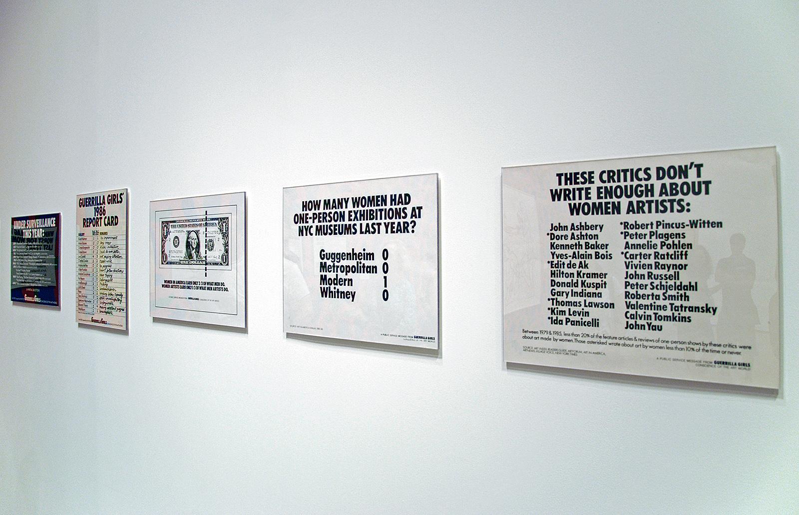 posters Guerrilla Girls